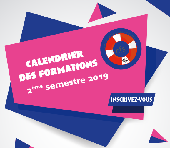 CALENDRIER DES FORMATIONS DU 2eme SEMESTRE 2019