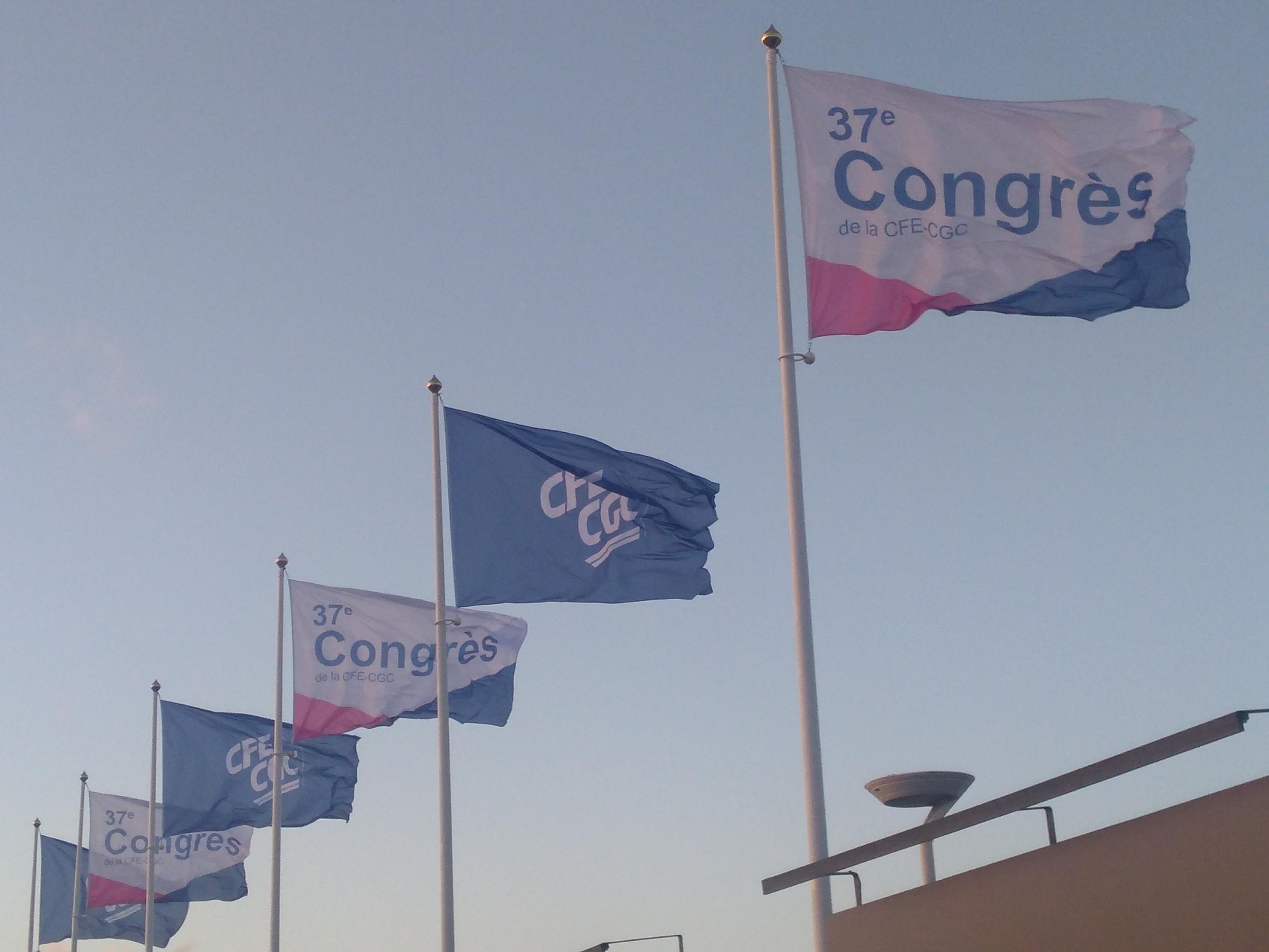 Ouverture du 37è congrès de la CFE-CGC à Deauville