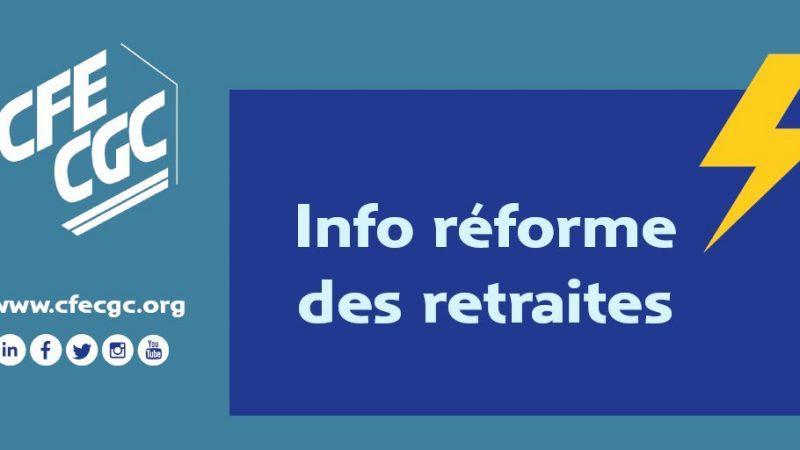 Retraites : Interview de Pierre Roger de la CFE-CGC