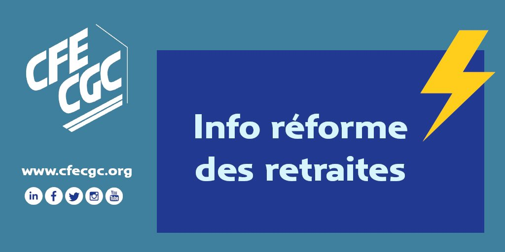 Réforme des retraites : Analyse CFE-CGC et mobilisation du 24 janvier