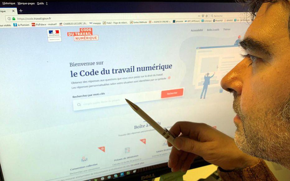 Code du travail : un site Internet pour tout comprendre