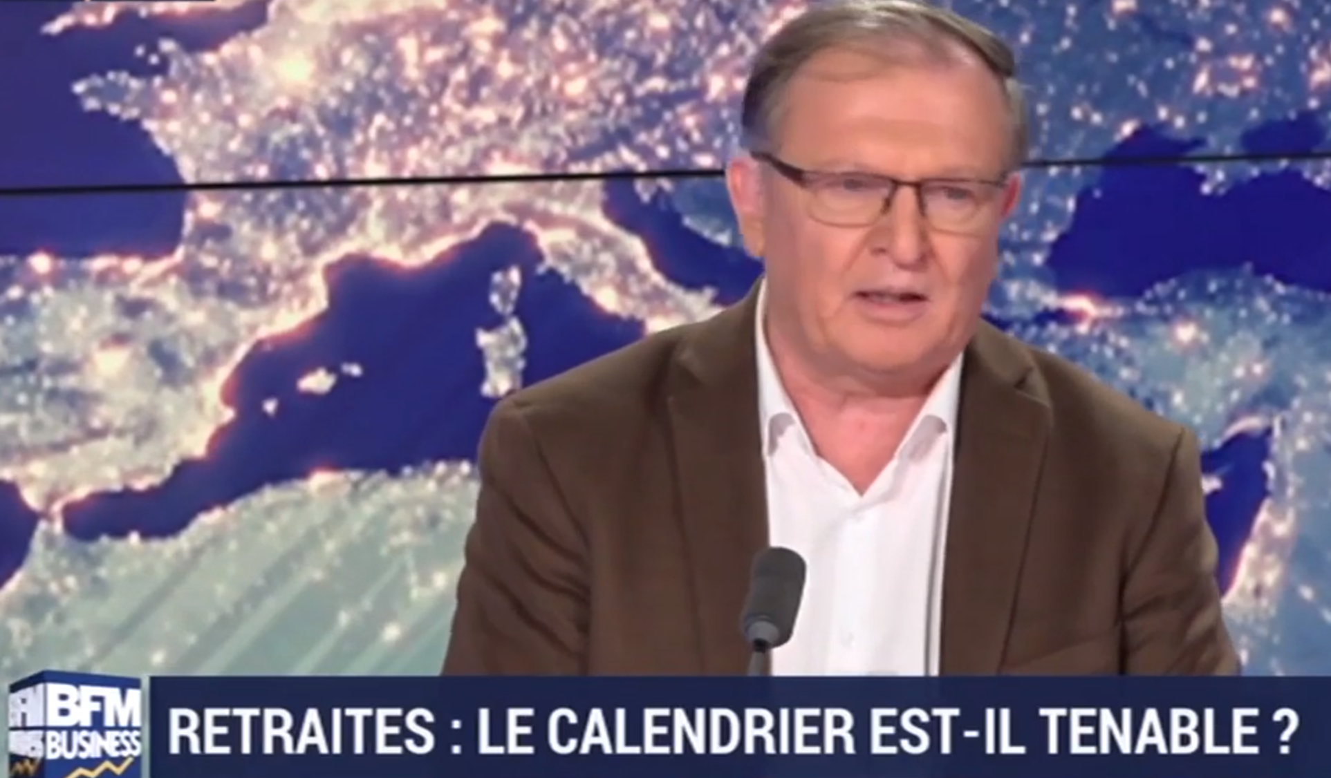 Retraites : Interview de Pierre Roger de la CFE-CGC